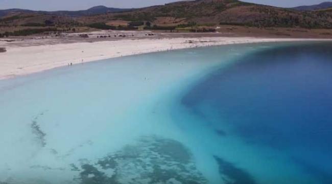 Salda Gölü yeniden ziyarete açıldı