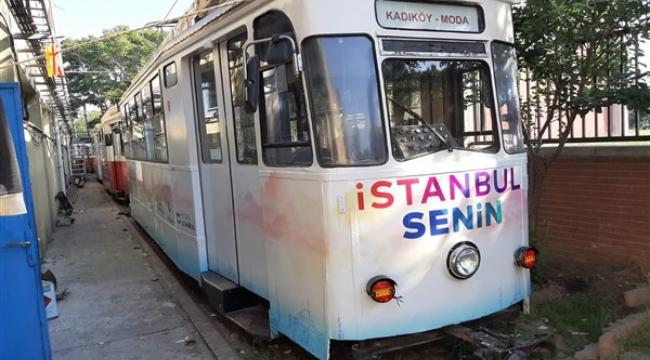 Moda Tranvay Hattı Yenilendi