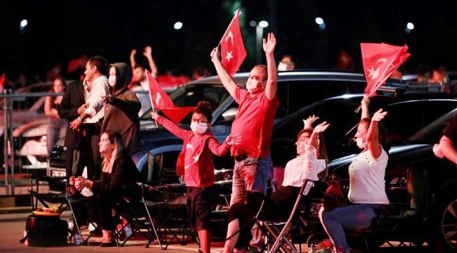 İstanbul'da 30 Ağustos Çoşkusu