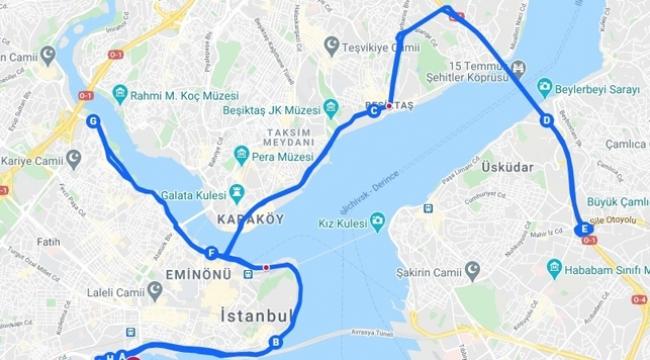 Pazar Günü Trafiğe Maraton Düzenlemesi