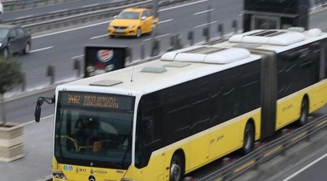 Metrobüslerde Kod Uygulaması Kaldırıldı