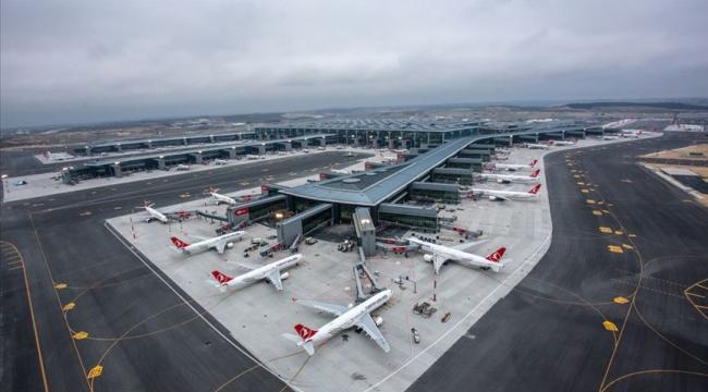 İstanbul'un Havalimanı Avrupa'da Zirvede
