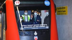 İkitelli Metrosu Kısmi Açıldı