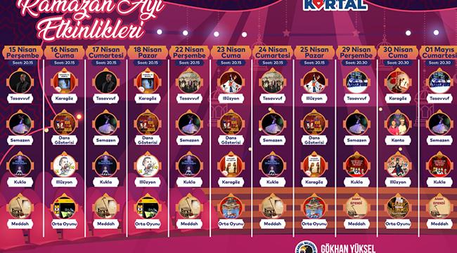 Kartal Belediyesi'nin Ramazan Ayı Etkinlikleri Başlıyor