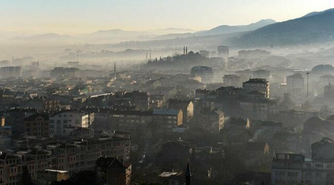 Korona İstanbul'da hava kirliliğini yüzde 10 azalttı