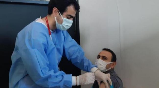 Havalimanı'nda Aşı Merkezi Açıldı