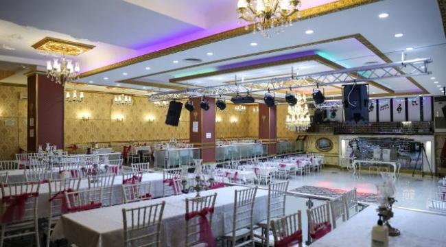 Düğün salonlarında doluluk yüzde 80'i buldu