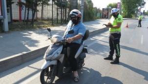 İstanbul'da Motorlara Denetim