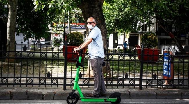 E-scooterlar'ın park edemeyeceği yerler belirlendi!!!