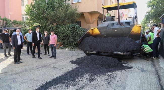 Mahalle Bazlı Asfalt Çalışmalarında Sıra Cumhuriyet Mahallesi'nde