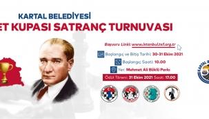 Kartal'da Cumhuriyet Kupası Satranç Turnuvası Heyecanı Başlıyor