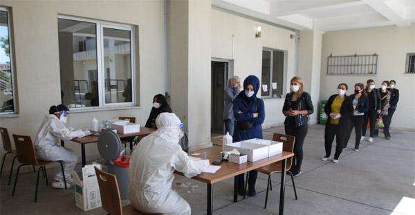 Belediyesi Kreşlerinde Çalışan Personele Korona Testi