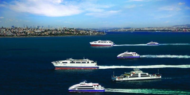 İstanbul'da deniz otobüsü ve feribot seferleri durduruldu