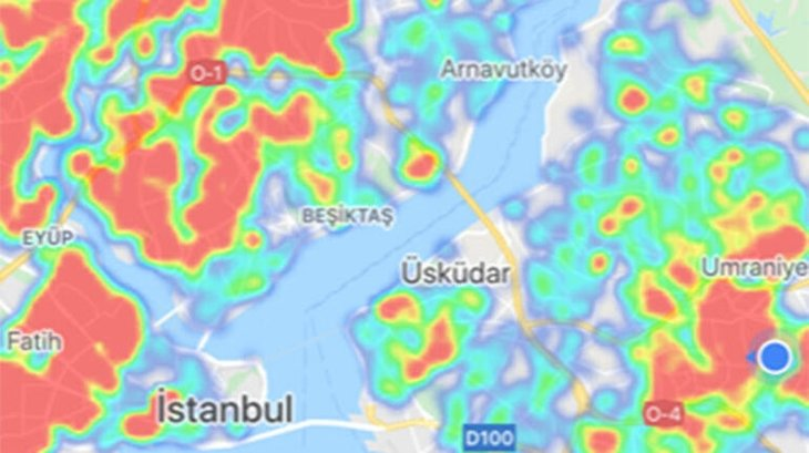 İstanbul'un Son Risk Haritası