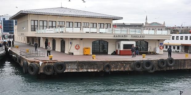 Kadıköy İskelesi Yenileniyor