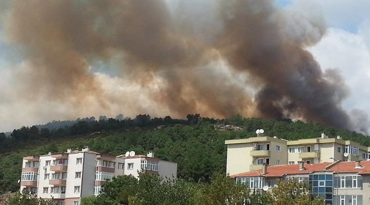 Kartal Aydos'ta Yangın